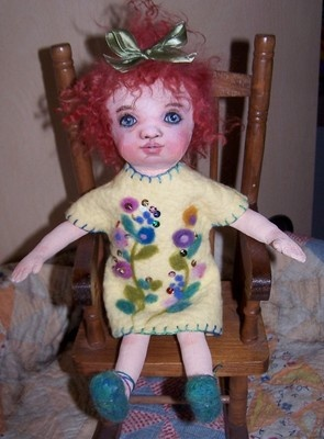 my latest doll now  on ebay