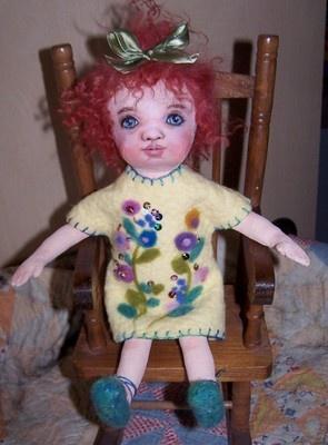 my latest doll now  on ebay