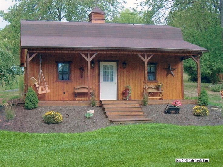 Cedar porch on barn google search outdoor living for Shed with porch and loft