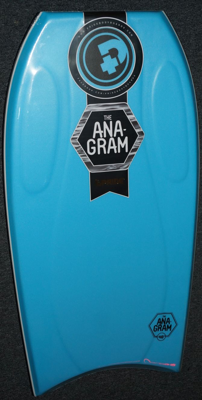 "PRIDE ANAGRAM 38/40/42"" BODYBOARD WITH STRINGER"