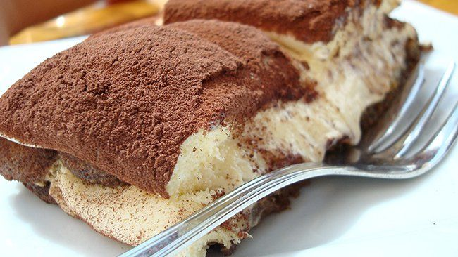 Sugar Free Tiramisu for bariatric eating
