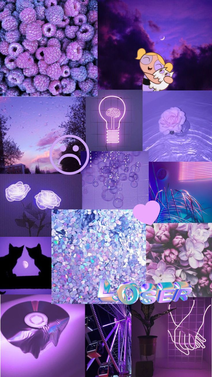 Wallpaper Backgrounds Aesthetic - purple aesthetic