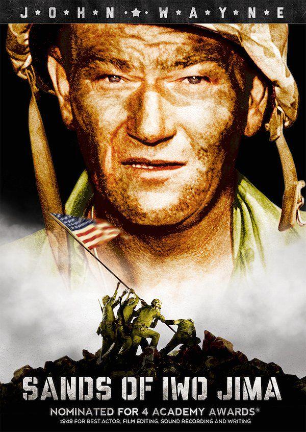 Sands of Iwo Jima DVD (1949) Starring John Wayne; Directed by Allan Dwan; Starring John Agar; Olive Films $19.95 on OLDIES.com