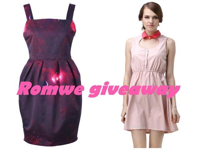 Romwe international giveaway
