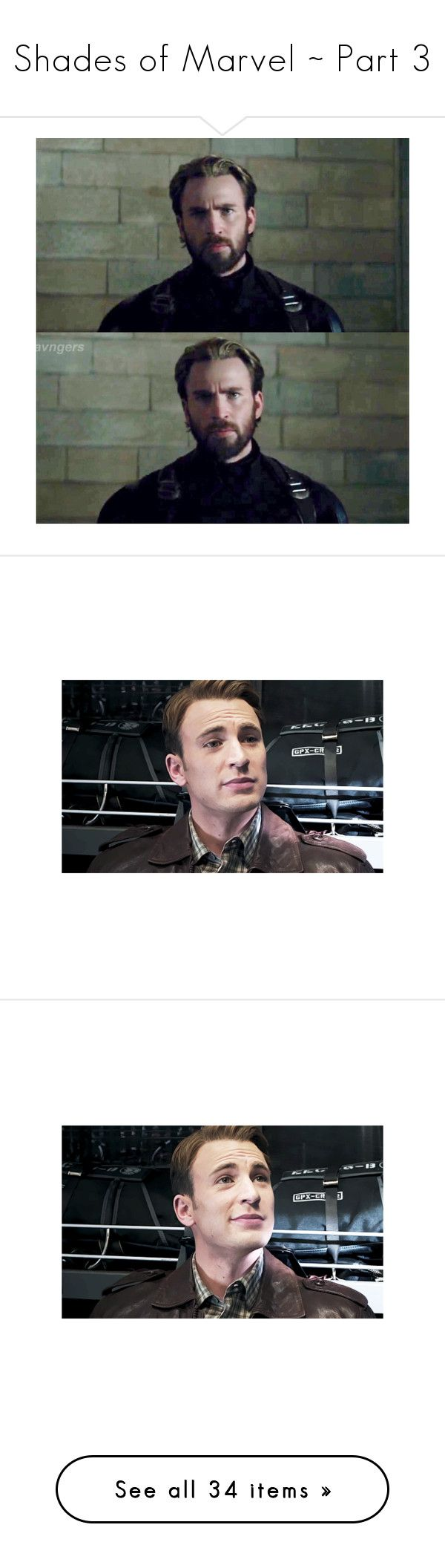 """Shades of Marvel ~ Part 3"" by t0-the-stars ❤ liked on Polyvore featuring chris evans, sebastian stan, marvel, pictures, avengers, emma stone, andrew garfield, bucky, bucky barnes and backgrounds"