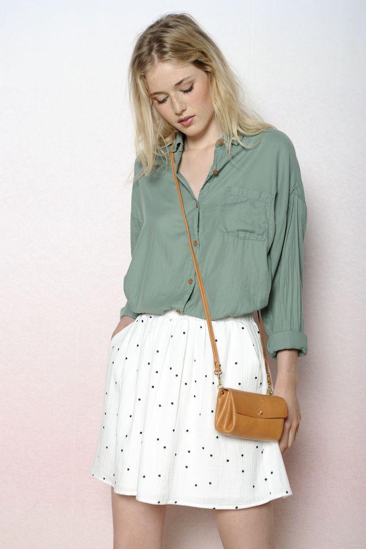 chemise Onigri cactus 100% coton - chemise Femme - Des Petits
