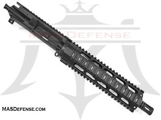 "10.5"" 300 BLACKOUT BARRELED UPPER - OMEGA 9.75"" SERIES - BLEM"