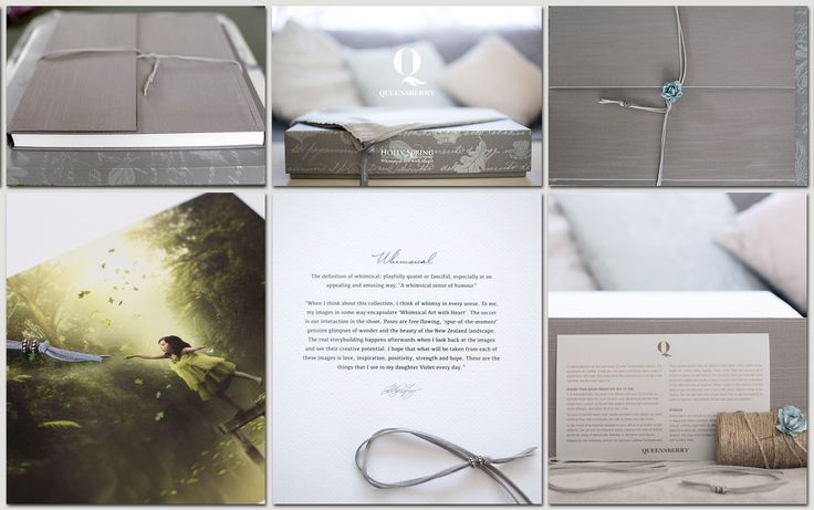 Queensberry Wedding Album |  Lay-flat Q Book Album | Japanese Silk Cover in Stone | A sneak peak by Holly Spring Photography | New Zealand | #weddingphotography