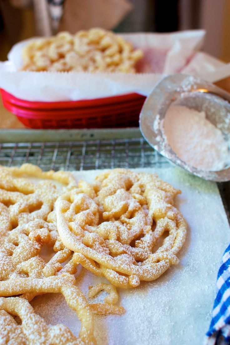 FINALLY!!! I love funnel cakes! Dairy & Egg-Free Funnel Cakes. Vegan too!