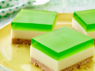 Receta de Cheesecake con Gelatina de Limón