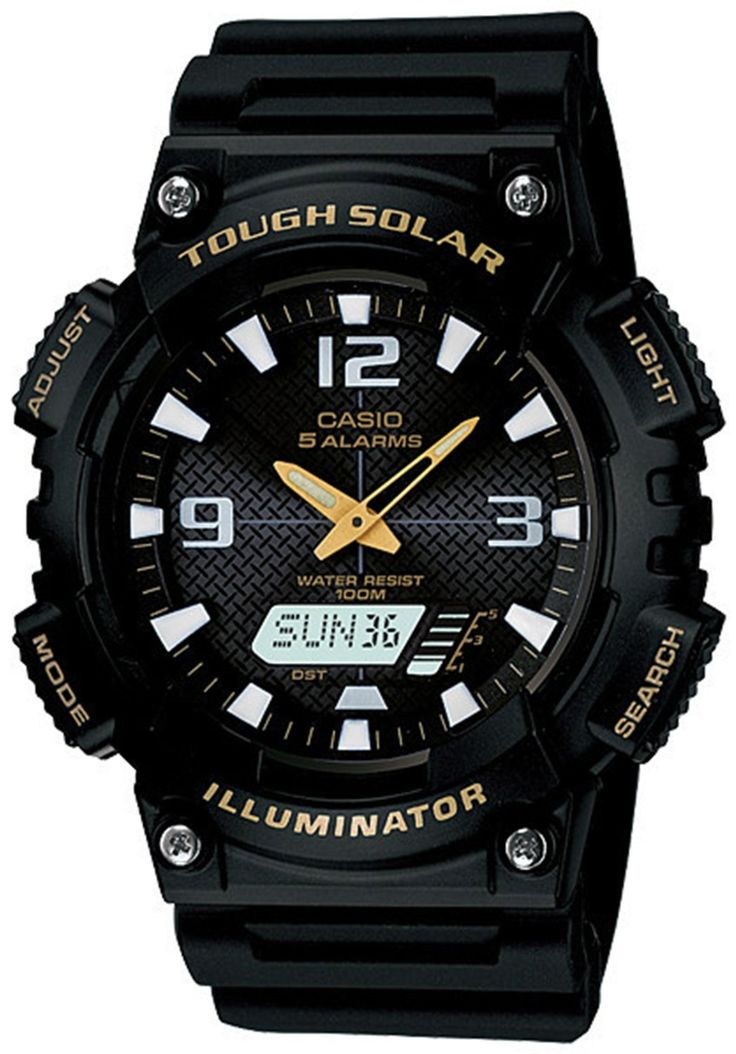 Casio Tough Solar Watch - Sport watches allow you to track running distance, time split laps and much more .Shop online for sport & fitness watches at: topsmartwatchesonline.com