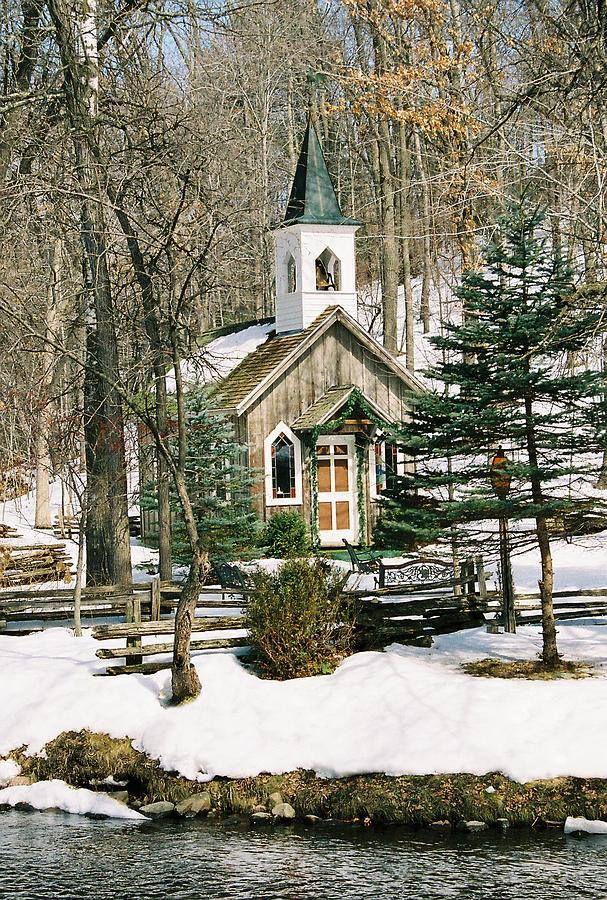 snow country church