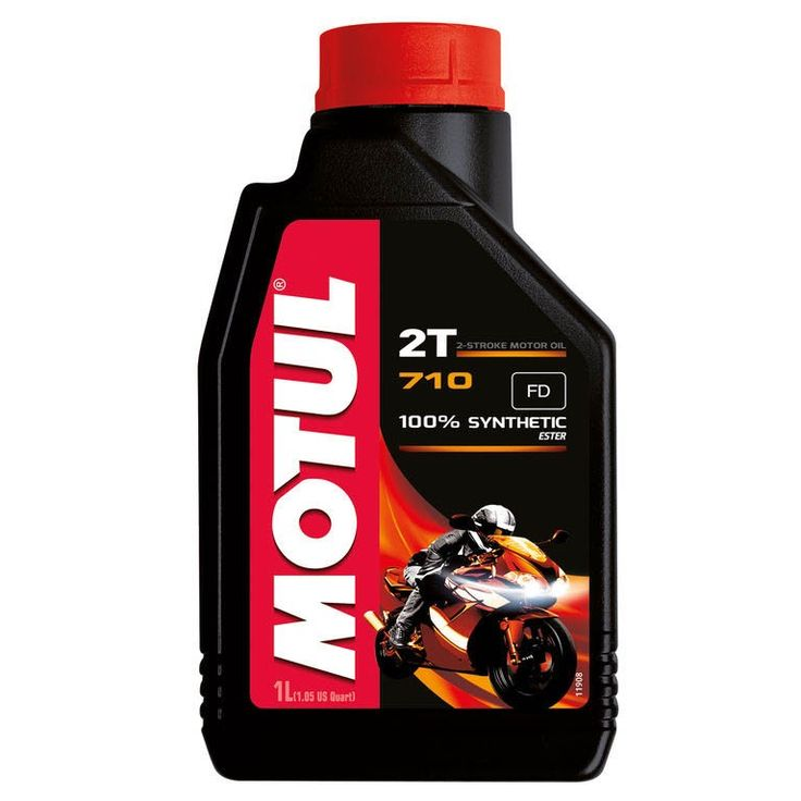 Motul 710 2T 100% Synthetic. Available in 1 & 4L.