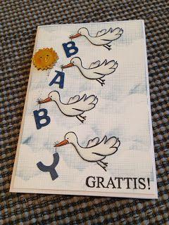 Randis hobbyverden: Babykort med ny vri
