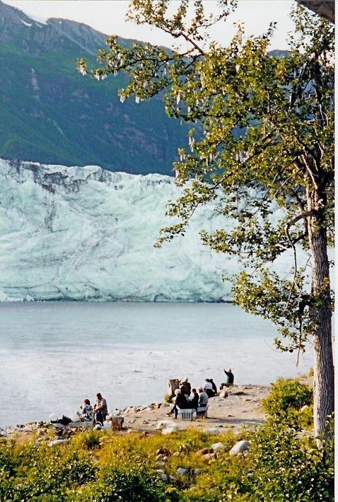 Cordova, AK: Salmon fishing in the Copper River at Childs Glacier, Cordova, Alaska
