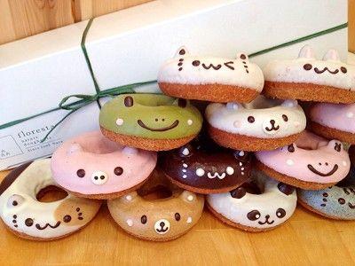 日本超人氣甜甜圈專賣店 Floresta,推出極誘人可愛動物造型的甜甜圈,使用的材料幾乎都是有機與日本國產的,不使用其他添加物,全天然手工製作。店名floresta是葡萄牙語「森林」的意思,店主前田夫婦希望做出最自然, 安心, 健康的nature doughnuts。  ...