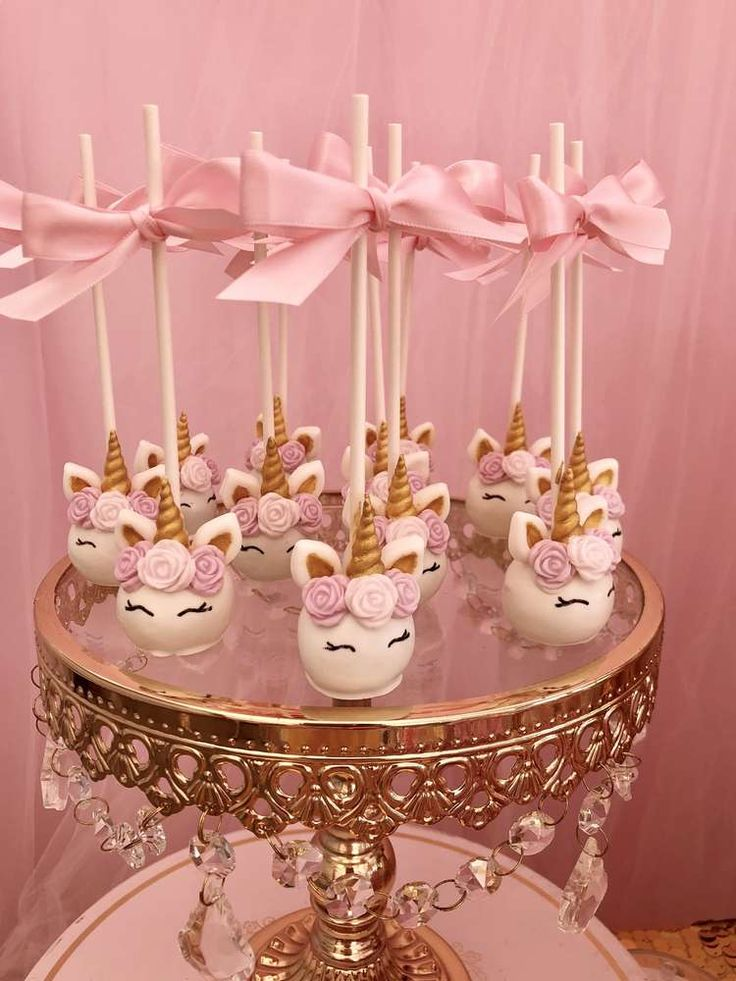 Unicorn Party Baptism Party Ideas | Photo 1 of 12