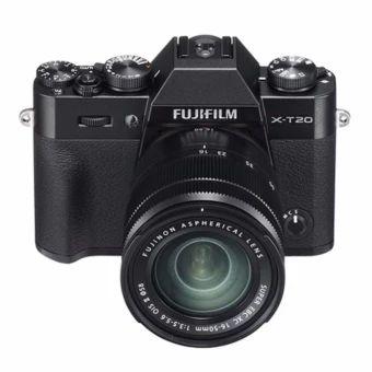 เก็บเงินปลายทาง  Fujifilm X-T20 + XC 16-50mm f3.5-5.6 OIS II (Black) - intl  ราคาเพียง  38,800 บาท  เท่านั้น คุณสมบัติ มีดังนี้ 4K Video Large Electronic Viewfinder Tilting Touch Screen