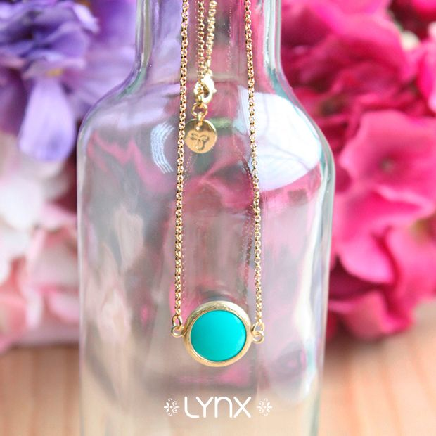 Cadena de Cristal color turquesa, encuéntrala en este y en otros colores en todas nuestras tiendas ¡Te esperamos! #Spring #newcollection #springcollection #ILoveLynx #lynxaccesorios #Lynx