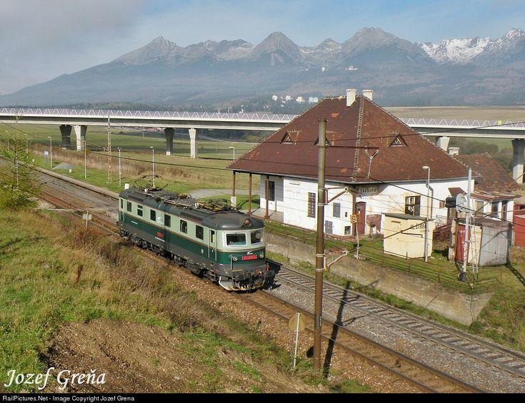 RailPictures.Net Photo: 183.005 ZSSK Cargo ŠKODA 183 at Štrba, Slovakia by Jozef Grena