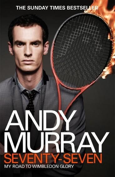 Andy Murray: Seventy-Seven: My Road to Wimbledon Glory. Andy Murray is one of Britain's best loved athletes. In July 2013 he became the first British man to lift the Wimbledon trophy for 77 years. The book takes readers on a personal journey through his career. Focusing on the last two years, he shares his thoughts on the pivotal moments of his playing career and allow us a glimpse into his world; his intense training regime, his close-knit team and his mental and physical battle to the top.