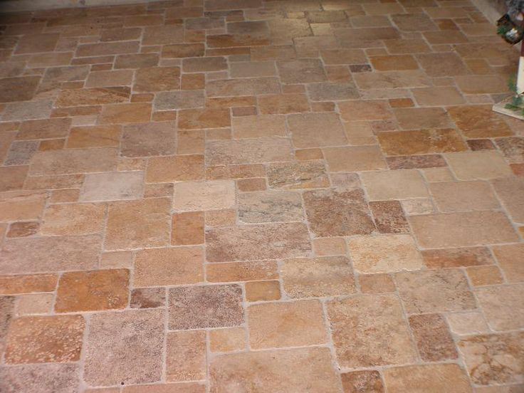 Patio Tile Layout Design