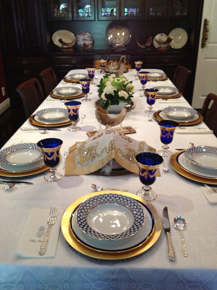 Yom Kippur table  SOMETIMES THEY NEED TO END...FOR THE GOOD OF ALL MANKIND!  INCLUDING ME!!!!!!