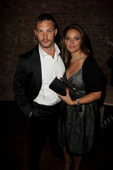 Tom Hardy and Rachael Speed (mama of Louis) - Rocknrolla - UK Film Premiere - Afterparty