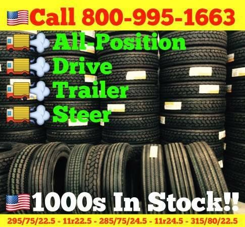 COMMERCIAL SEMI TRUCK TIRES