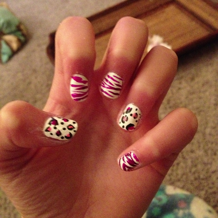 31 best zebra and cheetah nails images on pinterest cheetah nails zebra and cheetah nails i did myself solutioingenieria Gallery