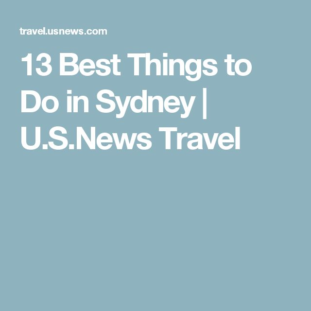 13 Best Things to Do in Sydney | U.S.News Travel
