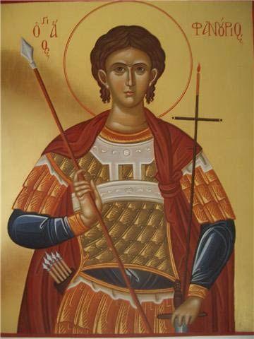 Saint Fanourios/Fanurie icon
