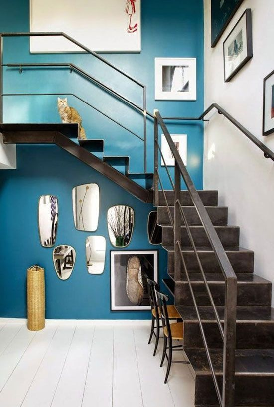 regardsetmaisons: Duo d' inspiration en bleu