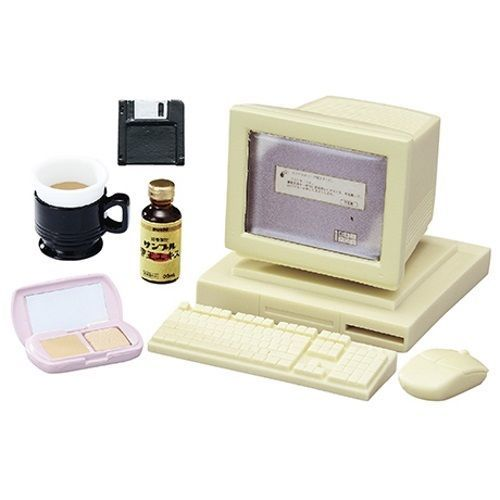Youth Days Rement Miniature Doll Furniture - Personal Computer #ReMent