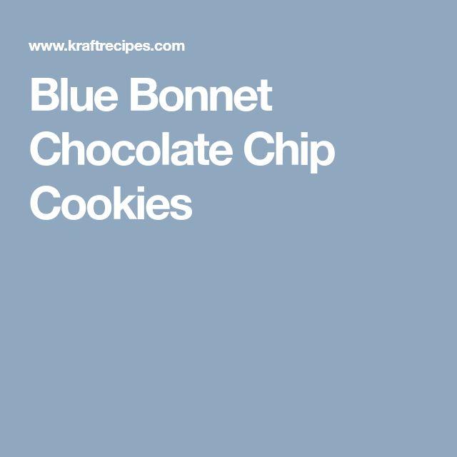 Blue Bonnet Chocolate Chip Cookies