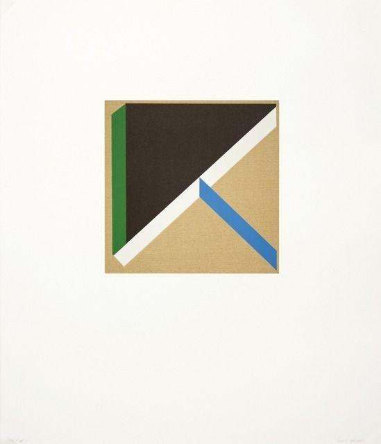 Tony Delap, Too Much Green III (2012), via Artsy.net