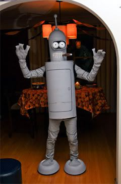 Bender Costume! This is happening this Halloween!!!!!!!!
