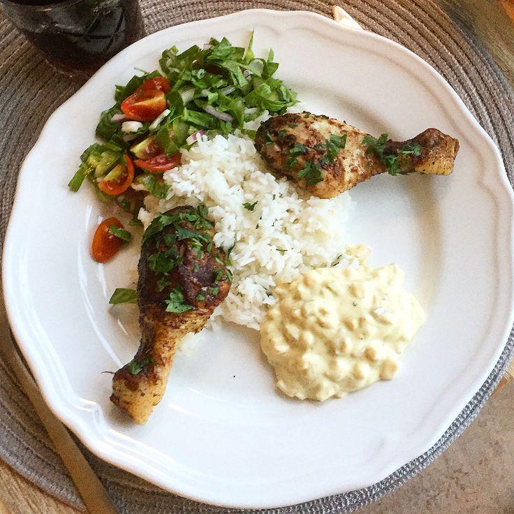 """114 gilla-markeringar, 4 kommentarer - Mats Westergren🇸🇪 (@m_ace_ing_kitchen) på Instagram: """"Marinerade kycklingben i olivolja, soya, balsamicovinäger, curry, rosmarin, vitlök, paprika, chili,…"""""""