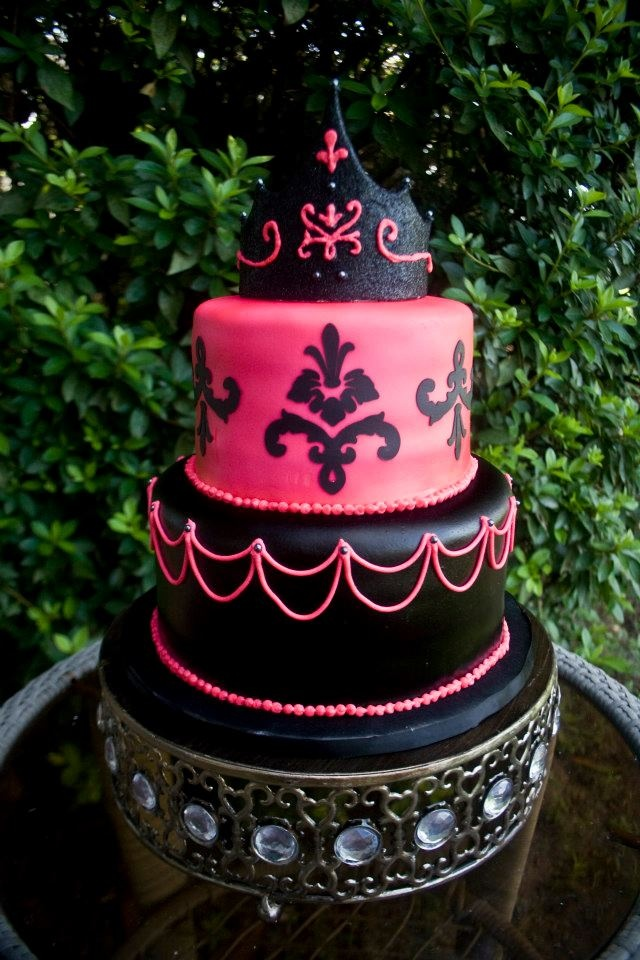 Cake Ideas For A 13th Birthday Party : 13th birthday cake. Yessss The Girls Pinterest ...