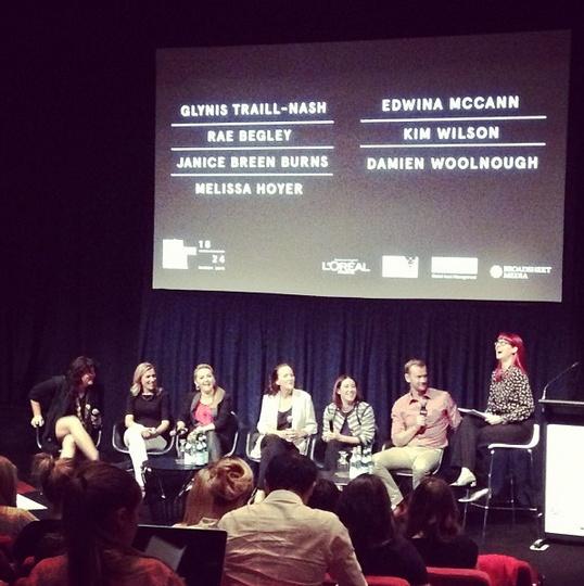 Fashion Industry Forum 02 underway @glynistn @DamienWoolnough @KimHeraldSun @melissahoyer @babbleonbyjbb #Rae Begley #EdwinaMcCann #lmffbiz