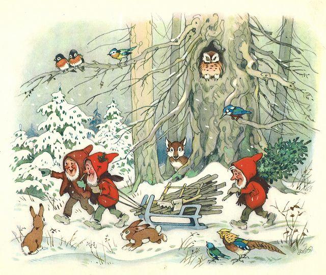 Fritz Baumgarten / Weihnachtsfest im Wichtelland