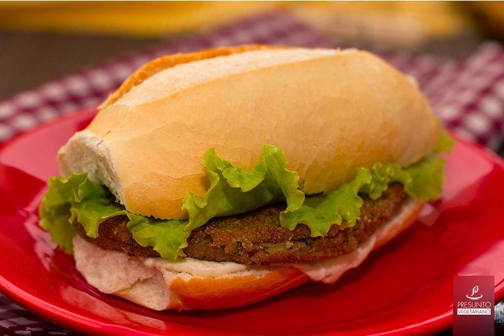 Hambúrgueres de berinjela