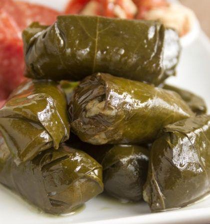 Recetas de Dolmades Griegos #recetas #recipes