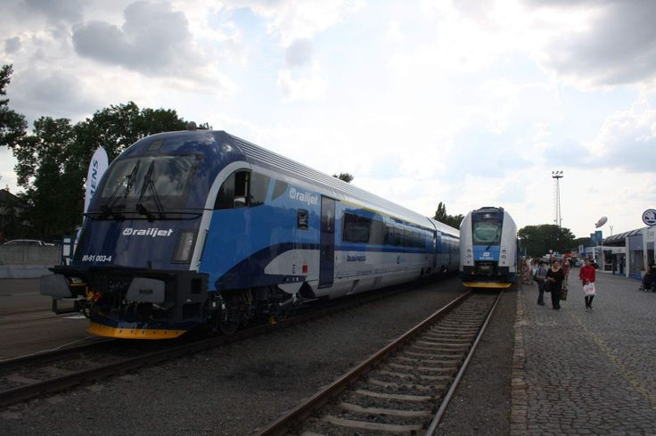 ČD Railjet a RegioPanter - České dráhy aldik7 | Czech Raildays 2014 (17.6.2014) – rajce.net
