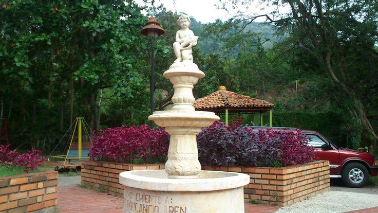 Un monumento histórico en Rionegro.