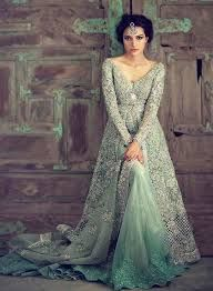 Image result for engagement outfits for indian bride