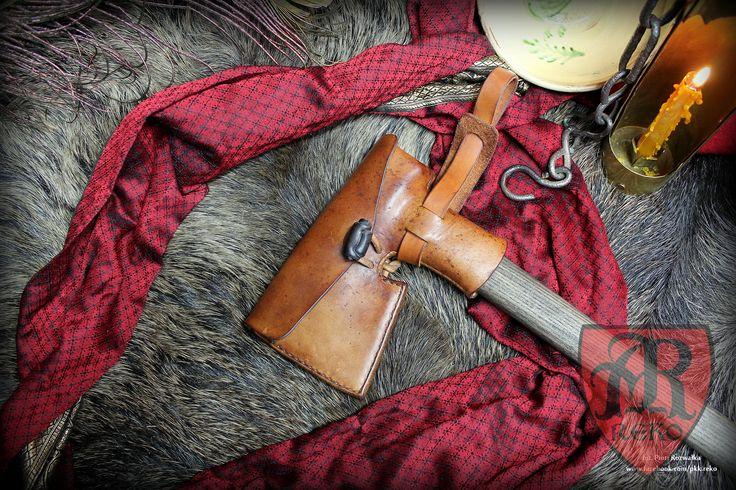 Medieval 15th century  case on axe www.facebook.com/pkk.reko