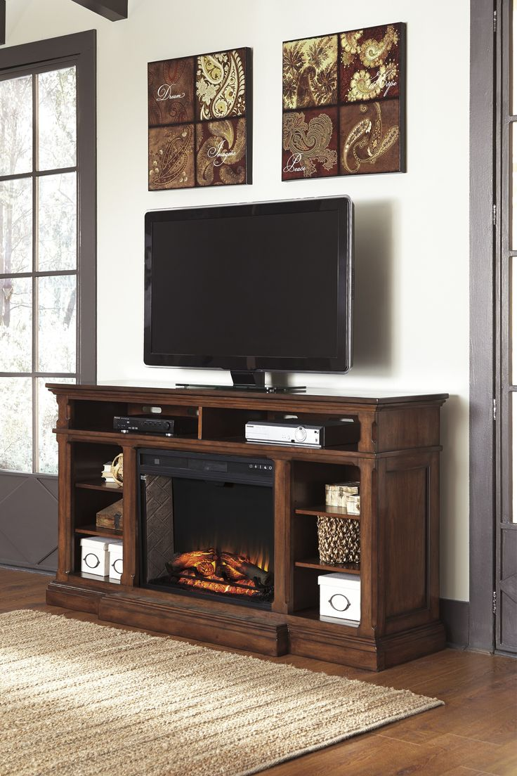 Style Vintage Color Burnished Brown Weight Lb DimensionsXL TV Stand