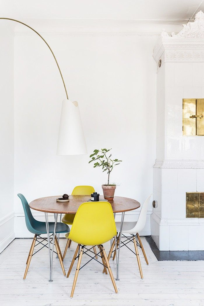Whether it's a couple of bar stools at the kitchen counter or an eight-person dining table, you should set up a proper dining space. You can only eat in front of the TV (or worse in your bed) so many times before feeling like a lonely caveman. Sit at a table to feel like a grown-up and entertain your friends on the weekend. You'll appreciate your space much more.