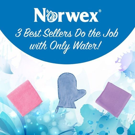 Norwex essentials - Enviro cloth, window cloth, dusting mit - Norwex Australia